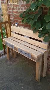 Build Wood Garden Bench by 8 Diy Outdoor Pallet Sitting Furniture Ideas Pallets Pallet