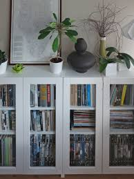 White Short Bookcase by