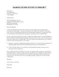 administrative assistant cover letter example happytom co