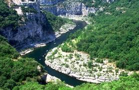 Gorges de l'Ardèche - région Rhône-Alpes