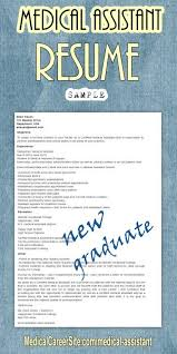 Medical Office Assistant Resume Examples by Best 25 Certified Medical Assistant Jobs Ideas Only On Pinterest
