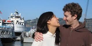 Mark Zuckerberg and Priscilla Chan     s    year relationship in
