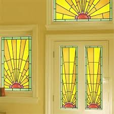stained glass door film art deco stained glass stained glass effect film purlfrost the