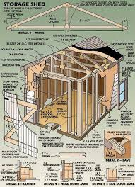 Free Saltbox Wood Shed Plans by 201 Best Diy Shed Plans Images On Pinterest Diy Shed Plans