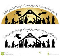 nativity christmas silhouette eps download from over 27 million