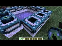 minecraft how to build a end portal 1 9 youtube