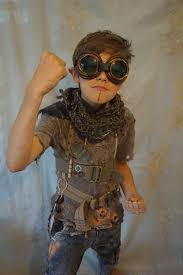 halloween city post apocalypse kid created by fable dresses on etsy children