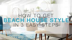 Beach Style House by How To Get Beach House Style In 3 Easy Steps Overstock Com Youtube