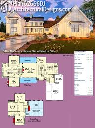 plan 62666dj five bedroom modern farmhouse with in law suite