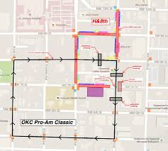 Oklahoma City Map 4th Annual Oklahoma City Pro Am Classic To Race Through H U00268th