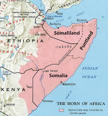 Somalia World Map by 7 5 East Africa World Regional Geography People Places And