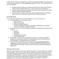 Hypothesis Of Research Proposal Example at   essays org pl