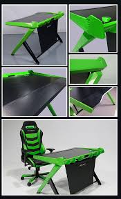 Gameing Desk by Green Color Office Gaming Desk Not So Easy To Hold This Color Can
