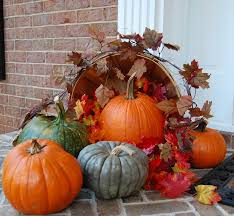 Thanksgiving Pumpkin Decorating Ideas Endearing Thanksgiving Outdoor Decoration Featuring Amusing