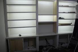 Custom Bookshelves Cost by Building A Built In Bookshelf Wall