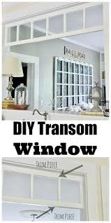 Transom Window Above Door Best 25 Transom Windows Ideas On Pinterest Water Closet Decor