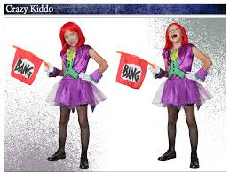 Halloween Girls Costume Joker Costumes Halloweencostumes
