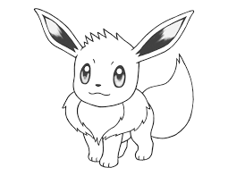 eevee coloring pages to download and print for free