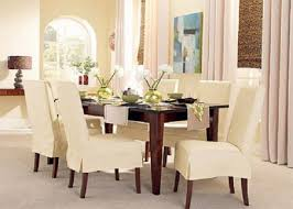 Pattern For Dining Room Chair Covers by Sure Fit Cotton Classic Dining Chair Slipcovers Diy Dining Chair
