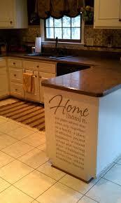 Kitchen Cabinet Quotes Best 25 Kitchen Decals Ideas On Pinterest Kitchen Vinyl Sayings