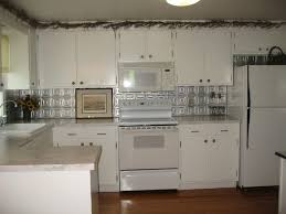 Interior  Personable Backsplash Panels Uk Glass Panel Aluminum - White tin backsplash