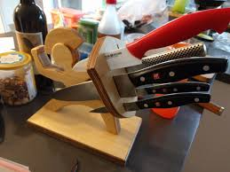 making spartan soldier knife block experience improve make