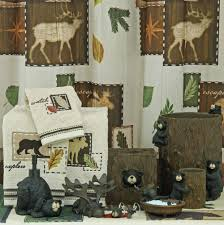 Moose Bathroom Accessories by Amazing 60 Black Bear Lodge Bathroom Accessories Design