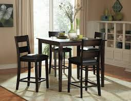 Five Piece Dining Room Sets Red Barrel Studio Belknap 5 Piece Counter Height Dining Set
