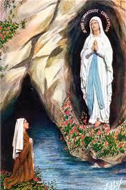 De grot te Lourdes