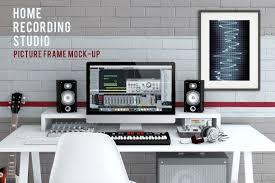 home recording studio mock up product mockups creative market
