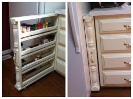 Kitchen Organization Ideas Pinterest Diy Rolling Spice Rack Organizer Love This Home Pinterest