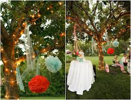 Wedding Backyard Reception Ideas by Triyae Com U003d Rustic Backyard Wedding Reception Ideas Various