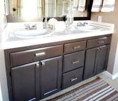 bathroom cabinets excellent dark bathroom vanity ideas with