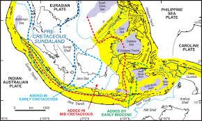 Tectonic Plate Map Australia U2013se Asia Collision Plate Tectonics And Crustal Flow