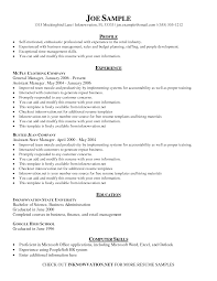 Best Resume Qualifications by Skills Profile Resume Resume For Your Job Application