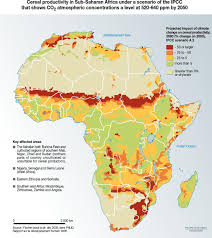 Map Of Mali Africa by Climate Change Impacts For Agriculture In Africa Full Size