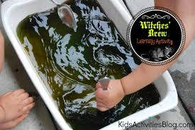 halloween themed science witches u0027 brew color mixing activity