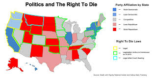 Map Of Northeast United States by The U201cright To Die U201d In America New Trends Explained