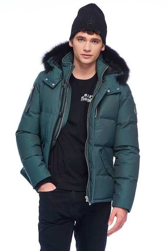 Moose Knuckles 3Q Jacket Oceanic / Black Fur S MK2228M3Q-524-S