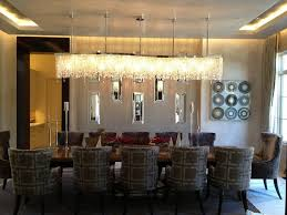 cute close to ceiling crystal chandelier as dining room including