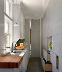 long kitchen hall way design ideas for the small space kitchen