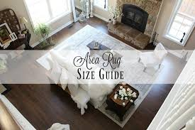 Rug Sizes For Living Room Area Rug Size Guide Farmhouse 40
