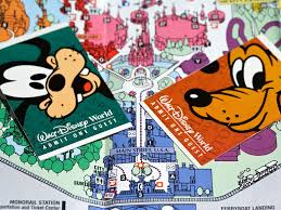 Map Of Downtown Disney Orlando by