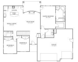 Ranch Style House Plans by Flooring Open Floor Plan House Plans One Story With Loft Rancher