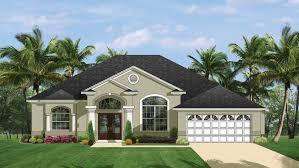 Mediterranean Modern Home Plans Florida Style Designs From - Modern style homes design