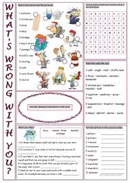 thanksgiving vocabulary pictures 42 free esl health problems worksheets