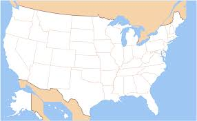 Unite States Map by File Map Of Usa Without State Names Svg Wikimedia Commons