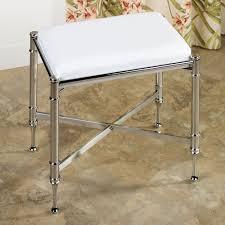 Vanity Stools With Wheels Bathroom Vanity Stool Or Bench Doorje