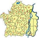 Localitatile judetului Braila: comunele si orasele judetului ...