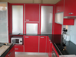 Red And Black Kitchen Ideas Red Kitchen Cabinets Red Kitchen Cabinets15 Extremely Red